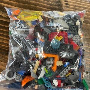 Random bag of lego pieces
